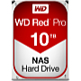 WD - Drive HDD 3,5 - Western Digital Red Pro 10Tb 7200rpm 256Mb 3.5' SATA3 merevlemez