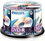 Philips - Média DVD Disk - Philips 4,7Gb 16x DVD-R, 50db/henger