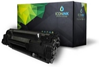 Iconink - Printer Laser Toner - Iconink HP 83X, CF283X utángyártott toner, Black
