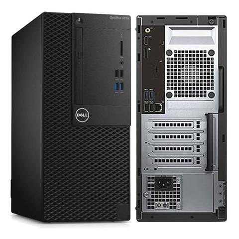 Dell - PC Szerelt Gépek - Dell Optiplex 3050MT i5-7500 8GB 1TB Linux